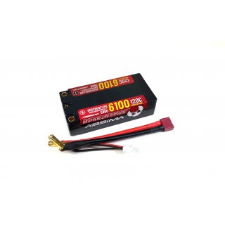 Absima Shorty Lipo HC 2S 120C 5900/6100HV 5mm incl. cable